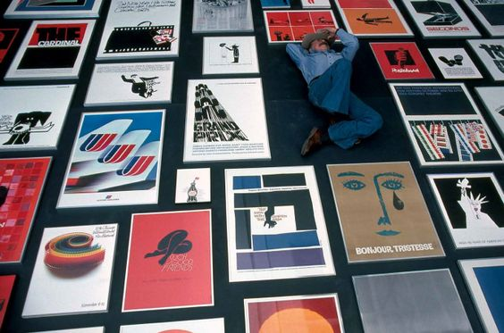 Design Legend Saul Bass Would Have Been 95 Today | Chronicle Books Blog