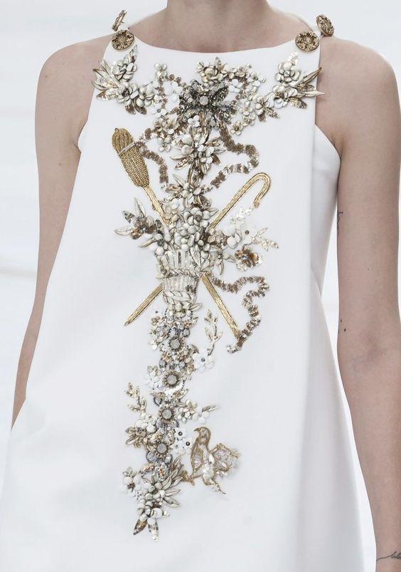 Chanel Haute Couture défilé Printemps Eté 2015.