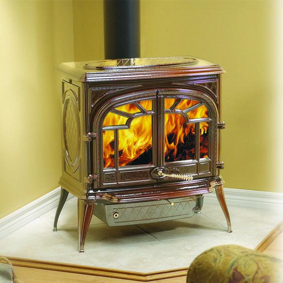 original cast iron wood burning stove
