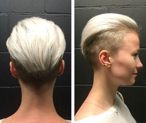 womens+two,tone+undercut+hairstyle