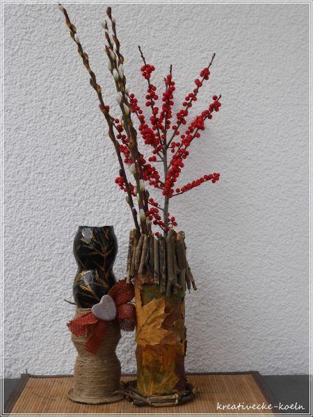 Vasen aus Papier