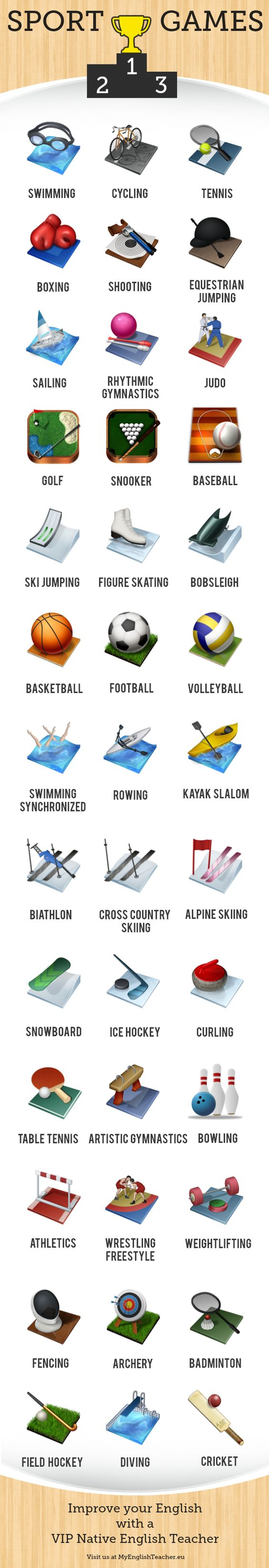 sports vocabulary english fce sport Flashcards - Quizlet