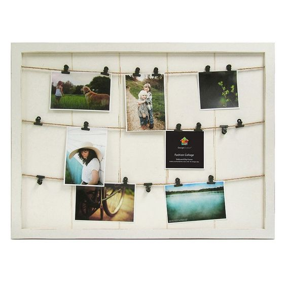 marrone 18 photo fashion collage clipboard frame from kohls
