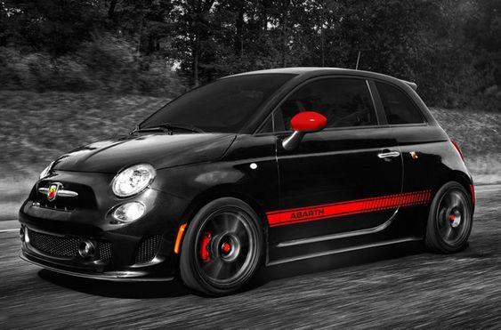 Fiat 500 Abarth Hermoso, si me lo gano, lo quisiera así!!! Gracias.