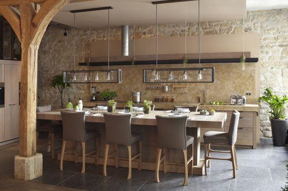 Création de cuisines contemporaines Zen le top
