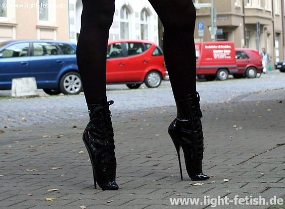 Extreme High Heel Shoes | extreme thin steel heel ballet boot ...