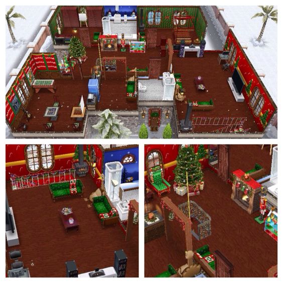 Christmas sims freeplay original house design floor 2 sims freeplay house design ideas - Sims freeplay designer home ...