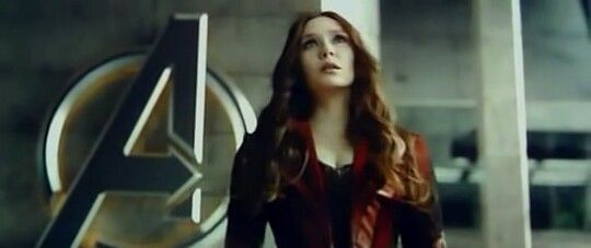 Mah girl Scarlet Witch.