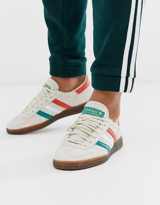 Problema interior escarcha  adidas Originals Handball Spezial Trainers   ASOS in 2020   Adidas shoes  originals, Adidas originals, Adidas
