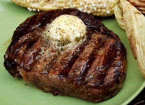Grilled Rib-Eyes with Chile-Lime-Tequila Butter | Recipe | Butter ...