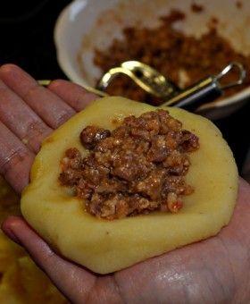 Papas Rellenas – Gefüllte kubanische Kartoffeln