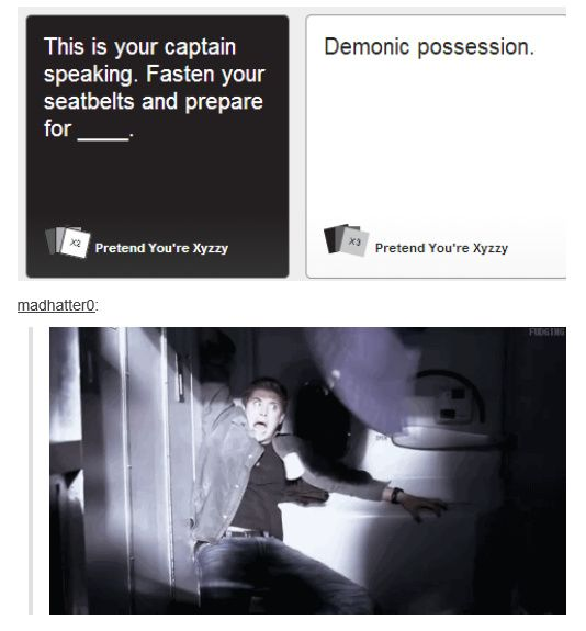 [gif] Cards Against Humanity always leads to Supernatural somehow :) <---everything leads to Supernatural