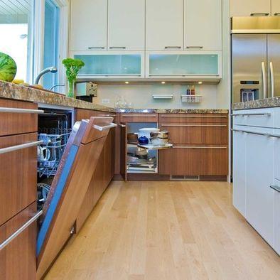 cabinet facing on dishwasher