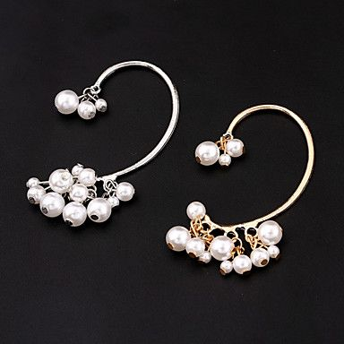 unisexe or de la mode / argent oreille boucles d'oreilles manchettes bijoux (1 pc, 10g) de 5031840 2016 à €2.93