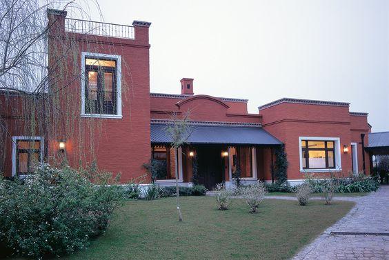 Casa de campo fachadas pinterest casa de campo for Fachadas casas campo
