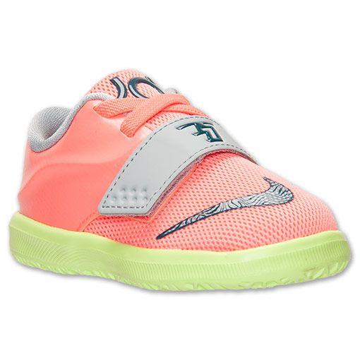... france boys toddler nike air kd 7 basketball shoes finish line bright  mango space blue light 35ec53b6d