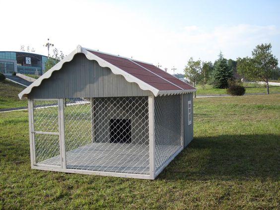 niche pour chien avec enclos niche et lit pour chien pinterest produits et technologie. Black Bedroom Furniture Sets. Home Design Ideas