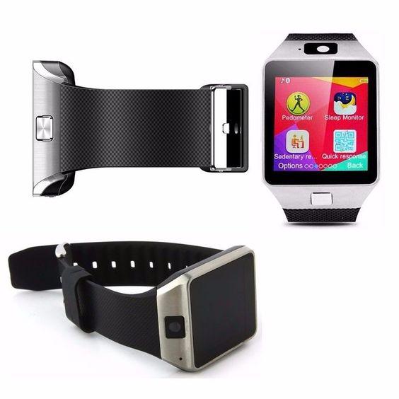 DZ09 Smartwatch Heart-rate Test Bluetooth Smart Watch Wristband with Pedometer A...