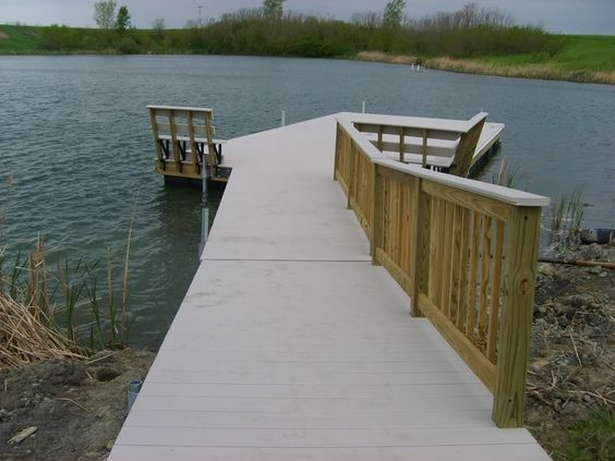 Small pond dock plans floating dock plans for pond http for Pond pier plans