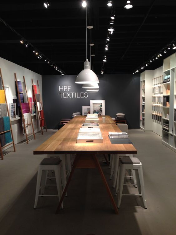 Showroom Design hbf textiles showroom at neocon | small apartments | pinterest