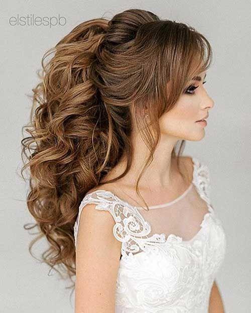 Outstanding Wedding Hairstyles For Ladies Hairstyles Ladies Outstanding Wedding Weddinghai Hair Styles Long Hair Styles Wedding Hairstyles For Long Hair