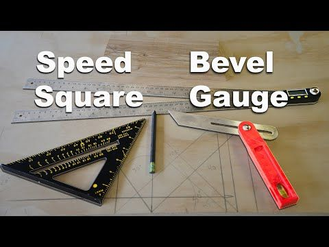 Learning How To Capture Transfer And Measure Angles Is A Foundational Skill It S Required To Do Many Carpentry Project In 2020 Speed Square Bevel Carpentry Projects