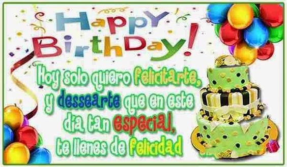 ¡Felicidades!! Espero que tus regalos sean mucha felicidad y mucho más amor!! ¡¡Besos!!