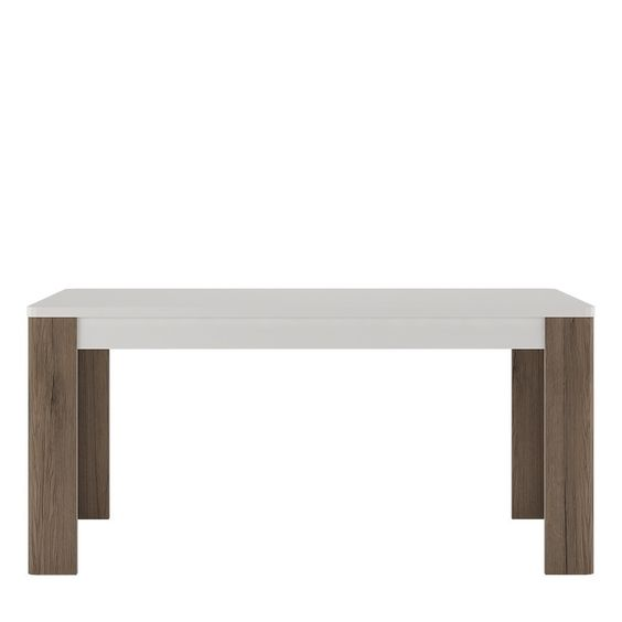 Toronto 160 cm Dining Table has laminated board that is resistant to damage, scratches, moisture and high temperature. #Furniture #Kitchen #Dining #KitchenAndDining #PriceCrashFurniture #KitchenFurniture #DiningFurniture #Toronto #Table #DiningTable http://pricecrashfurniture.co.uk/toronto-160-cm-dining-table.html
