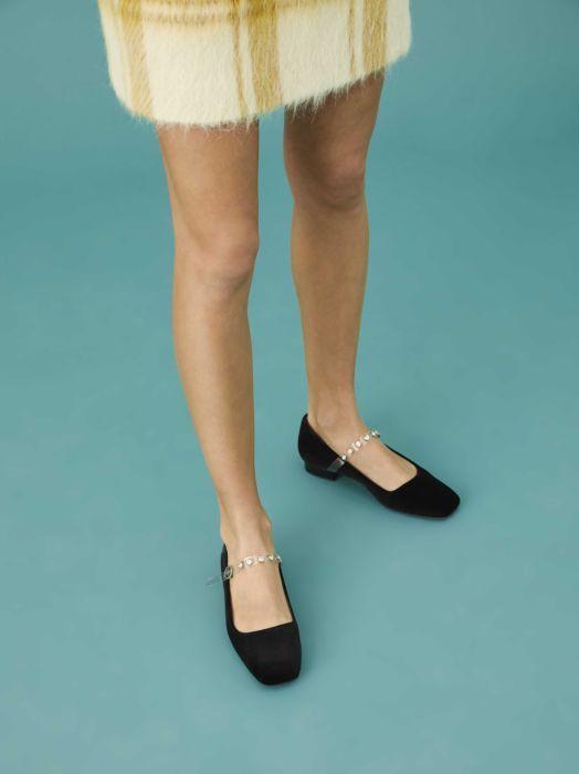 Square Toe Flat Slipper - New in