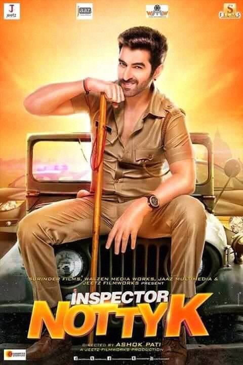 Inspector NottyK (2018) Bengali Movie First Look Poster Ft