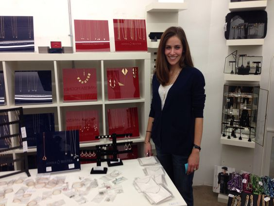 Adina Reyter Jewelry's showroom@Cooper Bldg.-with Adina herself!