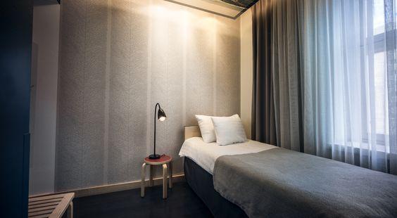 Room Single Standard #hotelhelka #designhotel #helsinki #finland #hotel #suomi #room