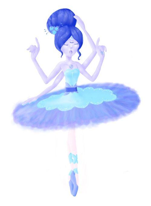 Meet Pearl, Amethyst and Sapphire's fusion, Fluorite!