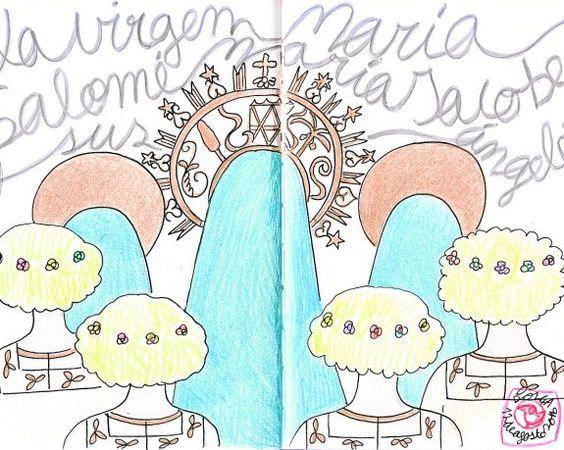 La Virgen y el cortejo mariano en el ensayo general del Misteri del día 12…