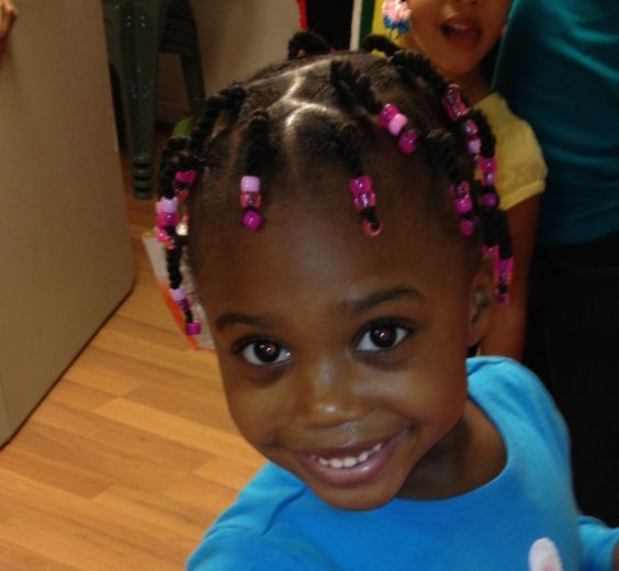 how to put beads on braids with rubber bands