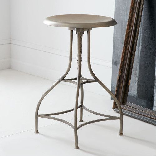 Industrial Swivel Stools Draftsman French Stools Wisteria