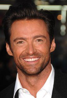 Hugh Jackman -- too ruggedly handsome to exist! I love him in the X-Men movies, Kate and Leopold, and The Prestige.