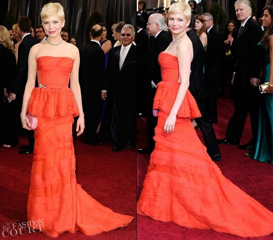 Michelle Williams @ The Oscars - I love her