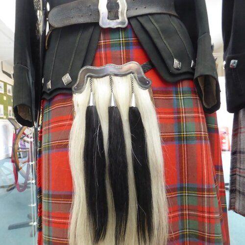 Vest Kilt New Men Kilt Outfit Black Stewart Stewart Tartan Antique Accessories