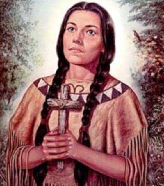 Kateri 'Caterina' Tekakwitha...I named my daughter after her...: St Kateritekakwitha, Blessed Kateri, American Saint, Kateritekakwitha 8033 Jpg, Kateri Tekakwitha, Catholic Faith, Saint Quote, Native American