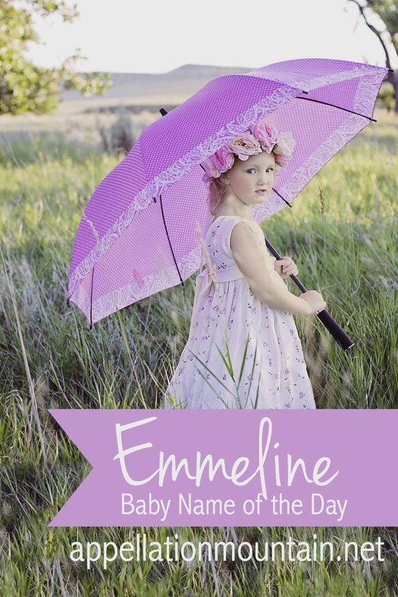 Love vintage baby names for girls? Emmeline is cousin to popular Emma and Emily, but is much more rare.