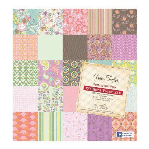 Grace Taylor Springtime Posy - Pack de papel para manualidades (100 hojas) Grace Taylor http://www.amazon.es/dp/B00JXKEPQS/ref=cm_sw_r_pi_dp_.4Xcvb0SGJF1F