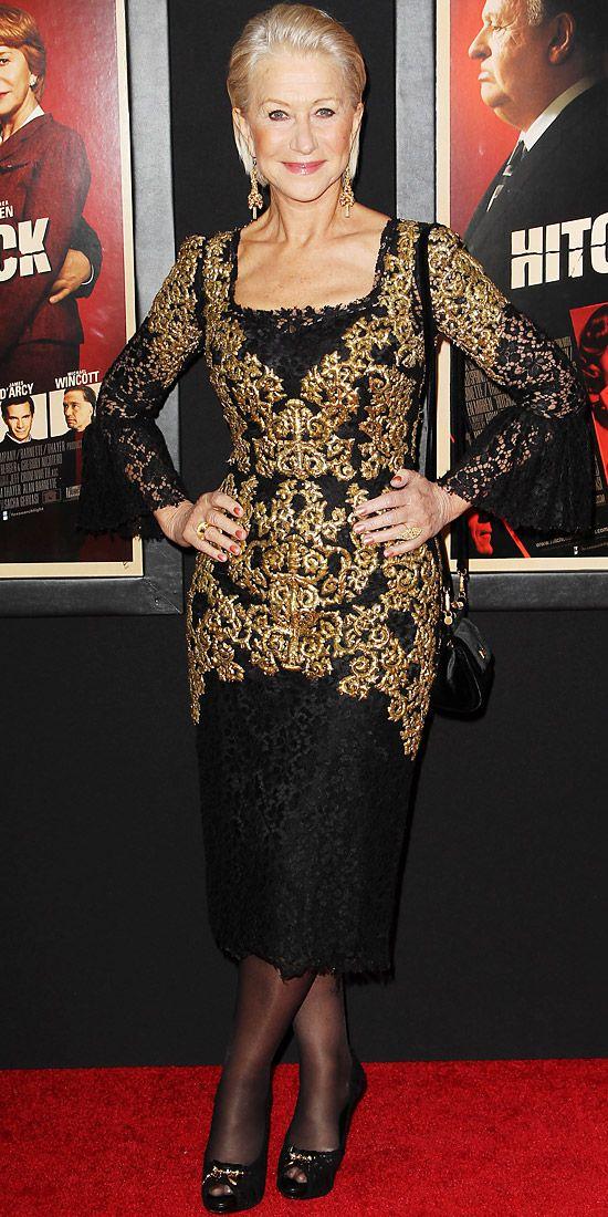 Otro Dolce & Gabbana que escoge Helen Mirren