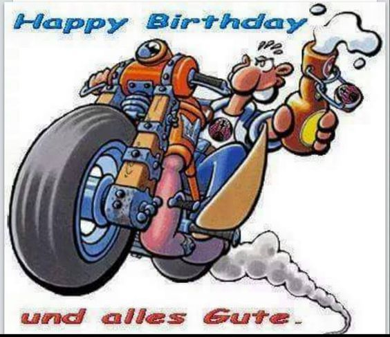 Pin Von Ylvi Auf Geburtstag Alles Gute Geburtstag Motorrad
