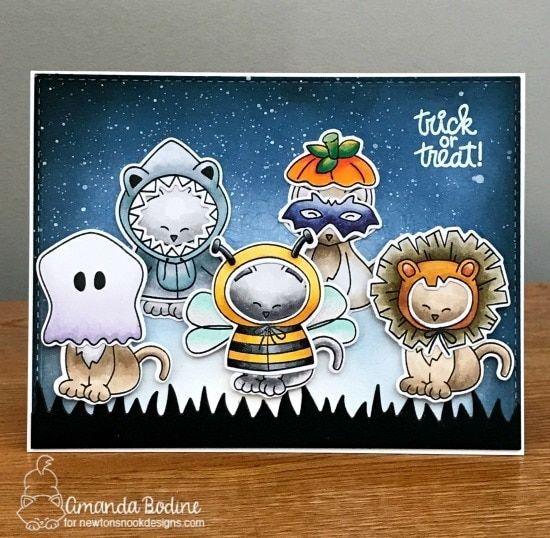 Newton S Costume Party Costume Party Halloween Scrapbook Halloween Greetings