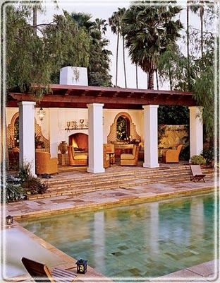 Spanish Colonial inspired. Love Mediterranean-style homes