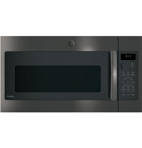 Ge Profile Series 1 7 Cu Ft Convection Over The Range Microwave Oven Model Pvm9179bl Range Microwave Over