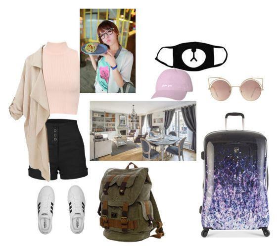 """""""Landed in Manila!"""" by nozoeli ❤ liked on Polyvore featuring art"""