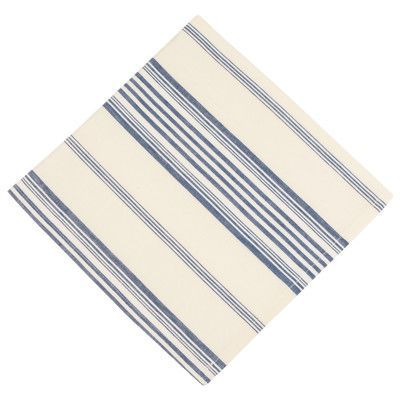 Traders and Company Skipper 100% Cotton Striped Napkins Color: