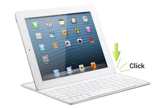 IPAD KEYBOARD - ACOGIDA MAGNéTICA (quiero este teclado cuando salga a la venta en marzo! argh!)